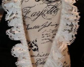 1 inch cream colored lace