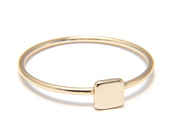 SQUARE ring 925 Silver