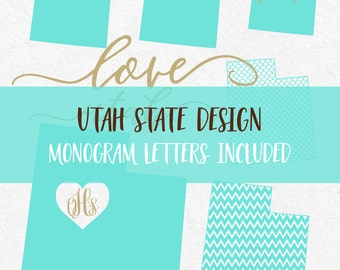 Utah State Svg Cricut svg Silhouette svg designs state outline png dxf svg cutting files monogram font svg font monogram files mermaid