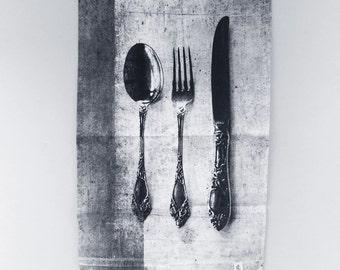 Tea towel - cutlery