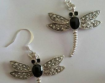 Silverstone Dragonflies Earrings.
