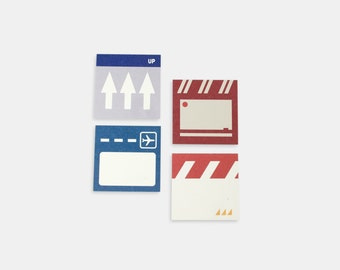 Terminal Mini Sticky Note Set