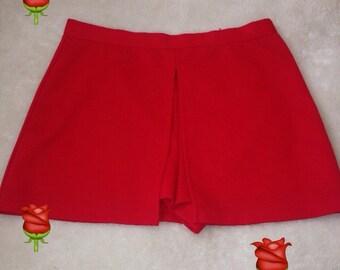 Rose Red Skirt
