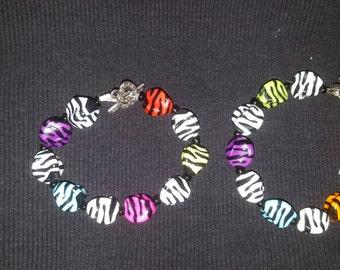 Fun colorful bracelets