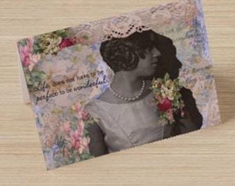 Lady Ana Vintage - Style Note Card Set of 6 (Meagan)