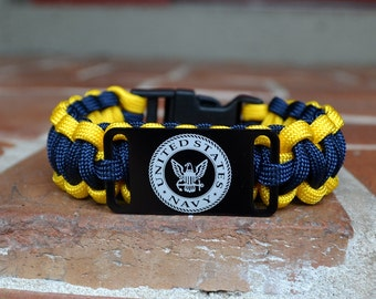 US Navy Military Paracord Bracelet