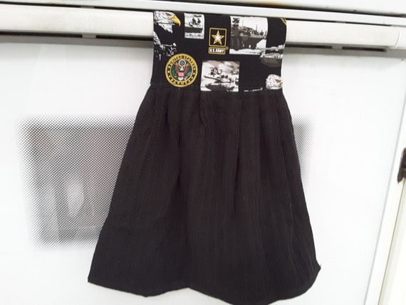 US Army kitchen towel with potholders 1300