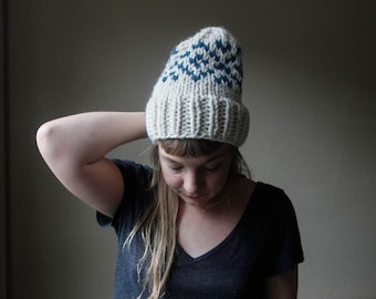 SCANDIA // Fair Isle Colorwork Beanie