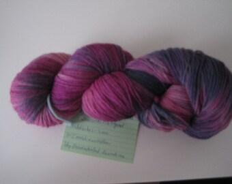"4 x sock yarn hand dyed ""Cheep"""
