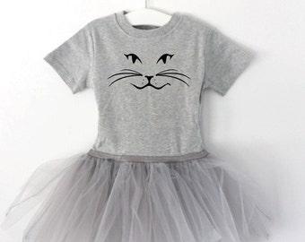 Cat Face Tutu Dress
