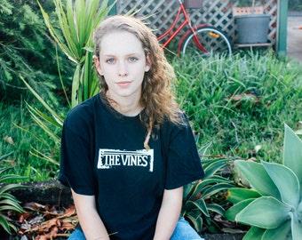 The Vines Australian Garage Rock Alternative Indie Band Black Tee Mens Tshirt Size Medium