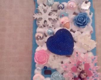 Handmade decoden phone case for Samsung galaxy note 4 frozen