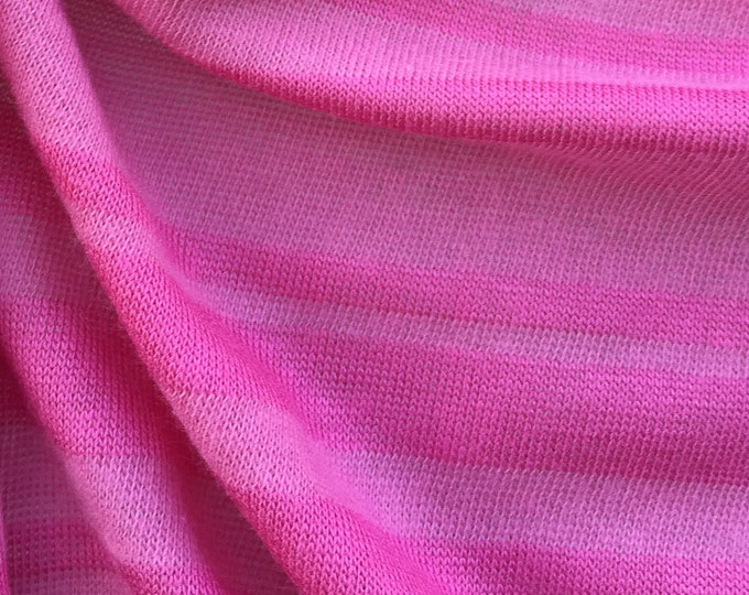 Combed Cotton Striped Jersey Fabric - 2030S