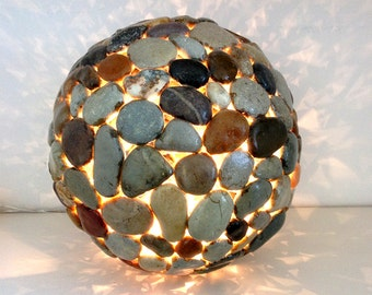 Summer Breeze -  Stone Table Light
