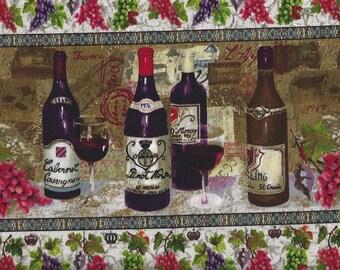 Wine Country Border, Spectrix.Fabrics