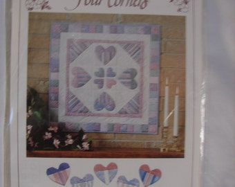 Hearts Choice Wall Hanging by Four Corners