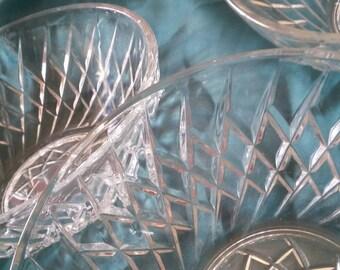 glass bowls set of 6