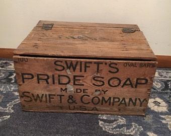 Pride soap lidded box