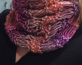 Fall Spectrum Bulky Cowl