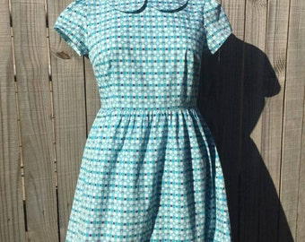 Forest Gingham Dress