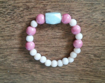 SUMMER CLEARANCE 50% OFF Pink Amazonite Bracelet