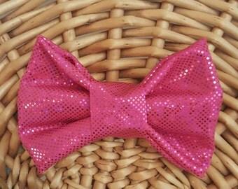 Pink Retro Bow