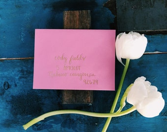 Personalized Calligraphy