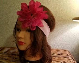 Hand crafted flower headband!