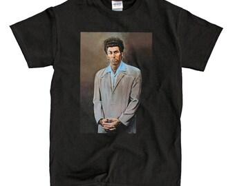 The Kramer Painting Black T-Shirt - High-Quality! Ready to Ship!