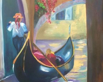 italy oil painting original