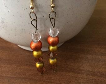 Fall inspired earrings