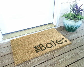 Custom Personalized Welcome / Door Mat