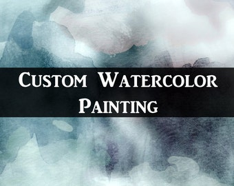 Custom Watercolor Painting