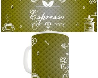 Decorative Espresso Coffee Ceramic Tea Mug