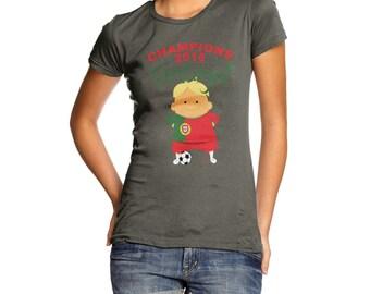 Women's Champions 2016 Portugal T-Shirt