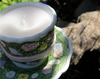 Tiny Teacup Candle