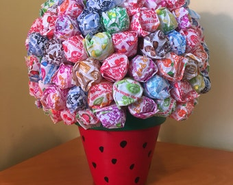 Watermelon / Strawberry Lollipop Bouquet