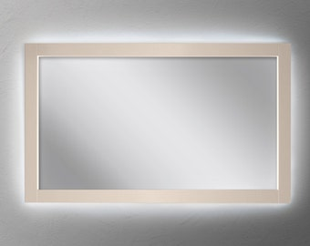 Lighted vanity mirror Etsy