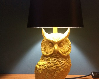 Limited edition owl lamp - Yellow