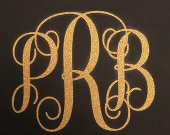 Glitter Monogram