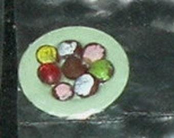 MINIATURE CUPCAKES - Choice of Color Dish