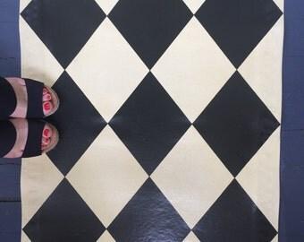 Diamond Floor Cloth