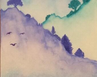 Watercolor Scene