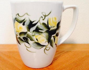 Hand painted cup.