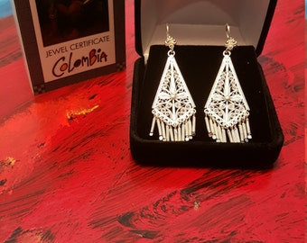 Filigree Handmade earrings  from Mompox Colombia !!! 30% DISCOUNT ALL ITEMS!!