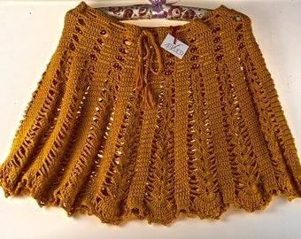 Crochet Skirt, Beachwear