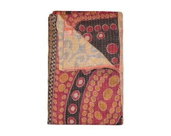 TAJ HOTEL - Kantha Vintage Throw 100% Cotton - 11684 - 50x70