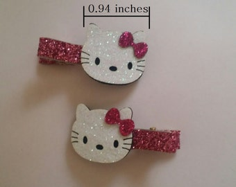Hello Kitty Hairclip Set,Hello kitty hairclip,Hello kitty accessories,Hello Kitty clip,clip set,clip,Baby girls clip