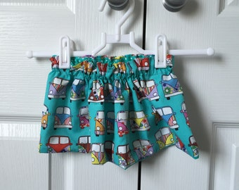 Reversible skirt for age 0-3 months