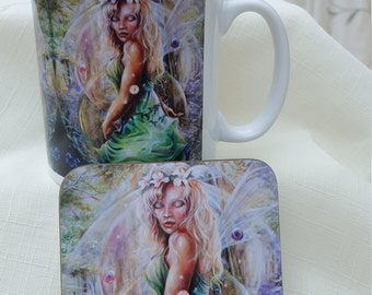Golden Dawn Mug & Coaster Set